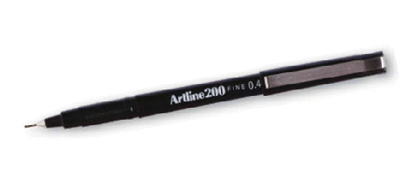 artline pen